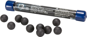 UMAREX T4E P2P .50 CAL. RUBBER BALL BLACK 10-PACK