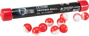 UMAREX T4E P2P .50 CAL. PEPPER BALL RED/WHITE 10-PACK