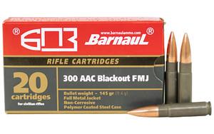 BARNAUL 300BLK 145GR FMJ 20/500