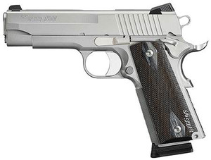 1911 45ACP USED SS/BLK 8+1UD19GS-45-B   STAINLESS SLIDEStainless Steel Slide