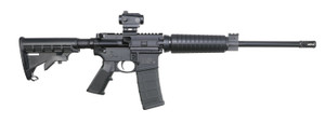 "Smith & Wesson 12936 M&P15 Sport II OR 5.56 NATO 16"" 30+1 Matte Black 6 Position Stock"