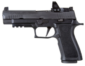 """Sig Sauer 320XF9BXR3RXP P320 RXP X Full Size 9mm Luger 4.70"""" 17+1 Black Black Polymer Grip with Romeo1 Pro"""
