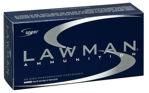 Speer Ammo 53650 Lawman  9mm Luger 115 GR Total Metal Jacket (TMJ) -sold by the case- 1,000 rounds total (50 Bx/ 20 Cs)