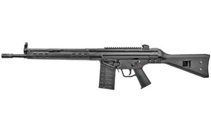 "PTR Industries, PTR-91 A3SK, Semi-automatic Rifle, 308 Win, 16"" Tapered Barrel, Black Finish, Fixed Stock, 1 Magazine, 20Rd, Slim Handguard, Welded Scope Mount, 5/8X24 Flash Hider, Paddle Mag Release"