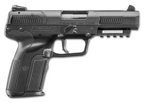 "FN 3868929354 Five-seveN 5.7x28mm 4.80"" 20+1 Black Black Polymer Grip 2 Magazines"