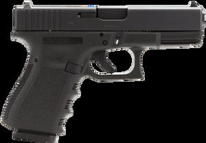 """Glock PI1950203 G19 Gen 3 Compact 9mm Luger 4.10"""" 15+1 Black Steel Slide Black Polymer Grip"""