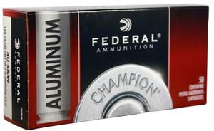 Federal -CAL40180 Champion Training 40 S&W 180 gr Full Metal Jacket (FMJ) 50 Bx/ 20 Cs