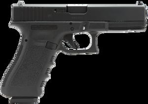 Glock -PI1750201 G17 Gen3 *CA Compliant* Double 9mm Luger 4.48 10+1 FS Black Polymer Grip/Frame Black