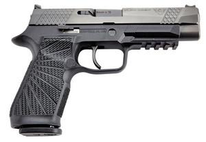 "Wilson Combat SIGWCP320FPBATC P320 9mm Luger 4.70"" 17+1 Black Black DLC Steel Black Modular Polymer Grip"