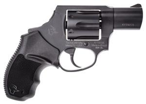 Taurus -2856021ULCH 856 Ultra-Lite 38 Spl + P 6 Round 2 Matte Black Aluminum Black Rubber Grip