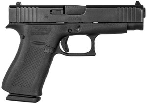 Glock -PA4850201 G48  9mm Luger DAO 4.17 10+1 Black Polymer Grip Black Steel Slide