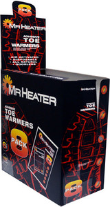 MR. HEATER TOE WARMERS 8 PAIRS PER PACK