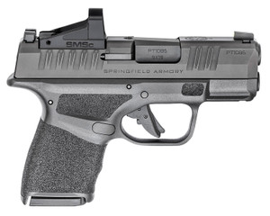 "Springfield Armory HC9319BOSPMSC Hellcat Optics Ready 9mm Luger 3"" 13+1 11+1 Black Melonite Steel Slide Shield SMSc Adaptive Texture Grip"