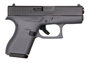 G42 G3 GRAY 380ACP 6+1 3.25  #W/TWO 6RD MAGS ACC & CASEMade in the United StatesGray Polymer Frame