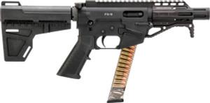 Freedom Ordnance AR-15 Pistol 9mm 4in 33rd Glock Magazine FX-9P4 FX-9P4