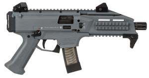 "CZ 01356 Scorpion EVO 3 S1 9mm Luger 7.72"" TB 10+1 Battleship Gray"