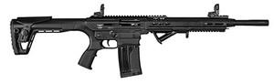 "Landor Arms -LDLND1171218 AR-Shotgun 12 Gauge 18.50"" 5+1,2+1 Black Black Synthetic Stock Right Hand"