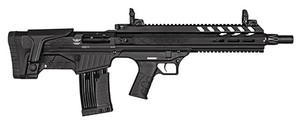 "Landor Arms- LDBPX9021218 BPX 902 12 Gauge 18.50"" 5+1 2+1 Black Black Fixed Bullpup Stock"