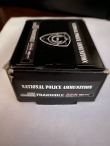 National Police Ammunition (NPA) 9MM-50 rounds per box