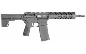 "HM Defense HMP15FMB556C Raider MC5 223 Rem,5.56x45mm NATO 9.50"" 30+1 Black Hard Coat Anodized Adjustable Shockwave 2.0 Blade Stock"