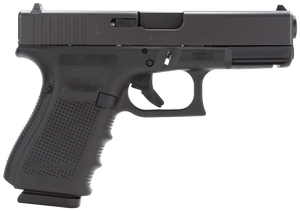 Glock PG3250203- G32 Gen 4 Double 357 Sig 4.01 13+1 Black Interchangeable Backstrap Grip Black