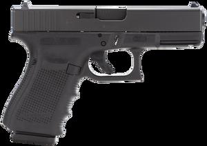 Glock PG3250203- G32 Gen 4 Double 357 Sig 4.01 13+1 Black Interchangeable Backstrap Grip Black