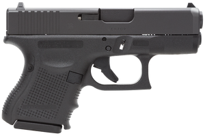 Glock -PG3350201 G33 Gen 4 Double 357 Sig 3.42 9+1 Black Interchangeable Backstrap Grip Black