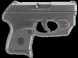 Ruger -3752 LCP Standard with Viridian Laser 380 ACP SA/DA 2.75 6+1 Black Polymer Grip Black Polymer Frame Blued Steel Slide