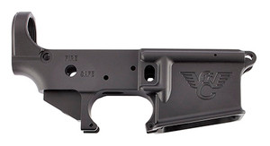 Wilson Combat -TRLOWERANO AR-15 Style Lower Mil-Spec Receiver AR-15 Rifle Black Armor-Tuff