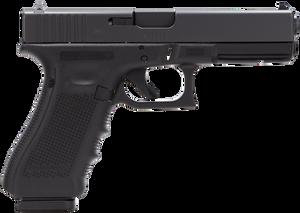 Glock -PG3150201 G31 Gen 4 Double 357 Sig 4.48 10+1 Black Interchangeable Backstrap Grip Black