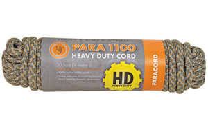 UST PARACORD 1100 30' HANK GRN CAM