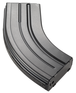 C Products -Defense Inc 2862041205CP DURAMAG AR-15  7.62X39mm 28 Round Stainless Steel Black Finish with Black Follower