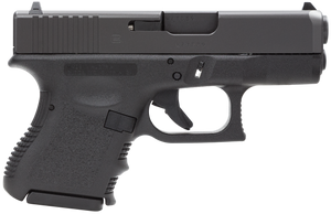 Glock -PI3350201 G33 Standard Double 357 Sig 3.42 9+1 Black Polymer Grip/Frame Grip Black