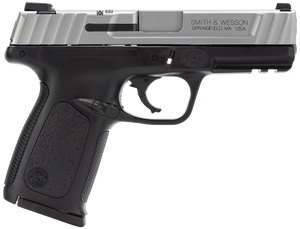 Smith & Wesson -223400 SD VE 40 S&W Double 4 14+1 Black Polymer Grip/Frame Grip Stainless Steel Slide