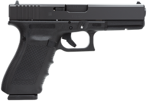 Glock -PG2050201 G20 Gen 4 10mm Auto Double 4.60 10+1 Black Interchangeable Backstrap Grip Black Slide