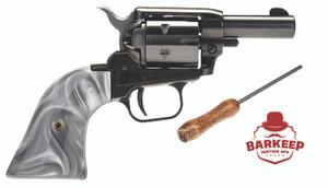 "Heritage Mfg -BK22B2GPRL Barkeep 22 LR 6rd 2"" Black Oxide Steel Gray Pearl Grip"