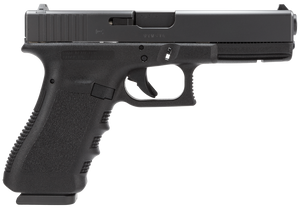Glock -PI2250203 G22 Gen3 Double 40 Smith & Wesson (S&W) 4.48 15+1 FS Black Polymer Grip/Frame Black