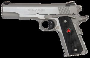 Colt Mfg O2020XE 1911 Delta Elite 10mm  Auto 5 8+1 Stainless Steel Black Polymer Delta Medallion Grip