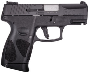 Taurus -1G2C403110 G2C  40 S&W Double 3.20 10+1 Black Polymer Grip Black Carbon Steel Slide