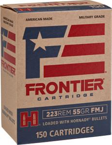 Frontier Cartridge -FR1015 Rifle  223 Remington 255 GR Full Metal Jacket (FMJ) 150 rounds