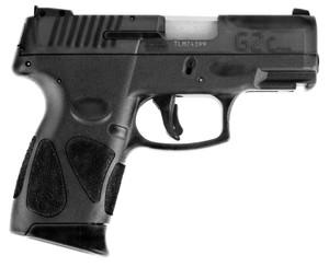 Taurus 1G2C93112- G2C  9mm Luger Single/Double 3.20 12+1 Black Polymer Grip Blued Stainless Steel Slide
