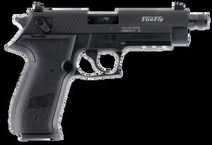 GSG GERG2210TFF- FireFly  22 LR 4.90 10+1 Black Black Zinc Alloy Black Polymer Grip