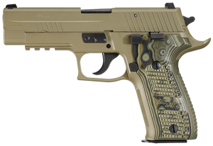 "Sig Sauer -226R9SCPNCA P226 Scorpion *CA Compliant 9mm Luger 4.40"" 10+1 Flat Dark Earth Flat Dark Earth Hogue Extreme G10 Piranha Grip"