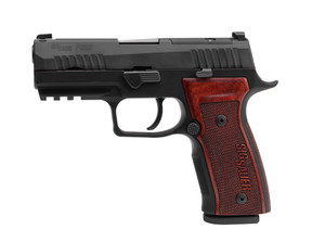 P320 AXG CLASSIC 9MM 17+1 NS320AXGCA-9-CW-CL-R2Optic-Ready SlideIncludes Challenge CoinCertificate of Authenticity