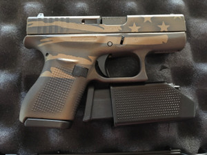 "Glock - G42, 380 ACP, 3.25"" Barrel, Fixed Sights, Black, 2 6-rd Mags"