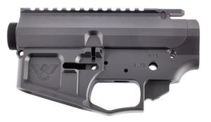 Wilson Combat -TRLOWUPPBILANO AR Style Matched Set AR-15 Rifle Black Hardcoat Anodized