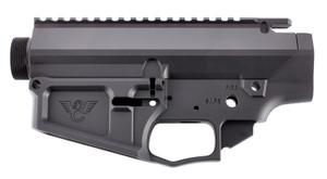 Wilson Combat -TRLOWUPPBIL10ANO WC-10 Matched Set AR-10 Rifle Black Hardcoat Anodized