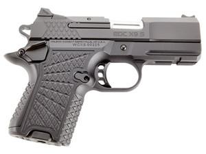 "Wilson Combat -EDCXSCR9A EDC X9 Subcompact 9mm Luger 3.25"" 10+1 15+1 Black Black G10 Grip Ambi Safety Rail"