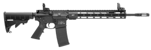 Smith & Wesson 11600 M&P15 -Tactical with M-Lok Semi-Automatic 223 Rem/5.56 NATO 16 30+1 Black 6 Position Synthetic Stock Black Aluminum Receiver