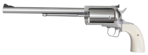 Magnum Research -BFR500SW10B BFR Long Cylinder SS Single 500 Smith & Wesson (S&W) 10 5 Bisley Black Laminate Stainless Steel